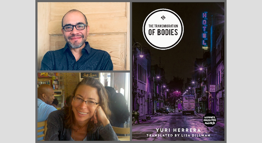 Yuri Herrera's The Transmigration of Bodies shortlisted for the Dublin Literary Award! 2